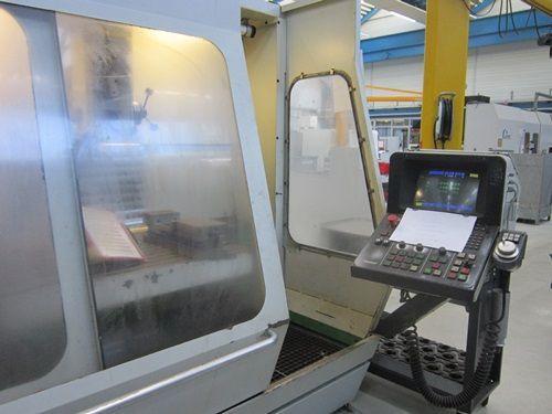 CNC freesmachine DECKEL FP 5 CC 1989