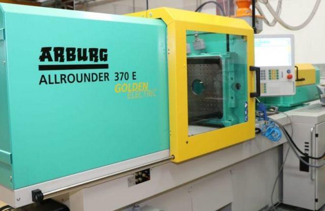 Plastics Injection Molding Machine ARBURG ALLROUNDER 370 E 600-170 2017