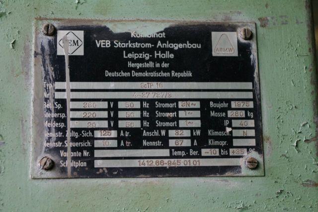 Эксцентриковый пресс ERFURT Erfurt ScTP16/3150 1975