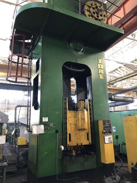 H Frame Press ZDAS Trimming press LU-630A 630 ton 1980