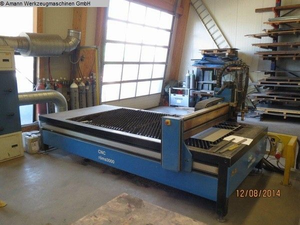 2D Plasma cutter ROEDER ROMA 3000-1,5 P 2005