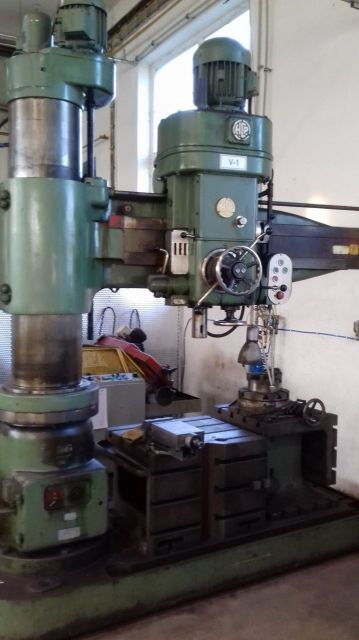 Radial Drilling Machine HCP WR 50/1.6 1963