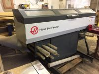 CNC Automatic Lathe HAAS BAR FEEDER 2015-Photo 2