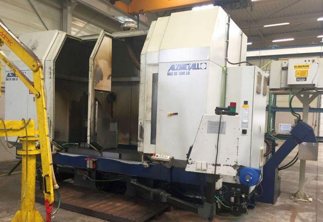 CNC verticaal bewerkingscentrum ALZMETALL BAZ 35 CNC LB 2000