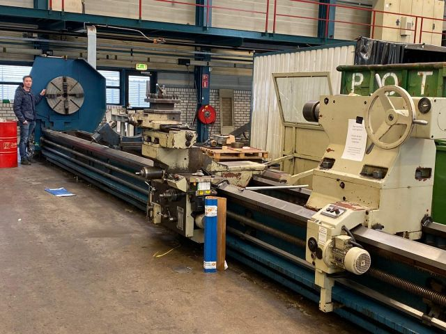 Heavy Duty Lathe TOS Celakovice SU 150 2004