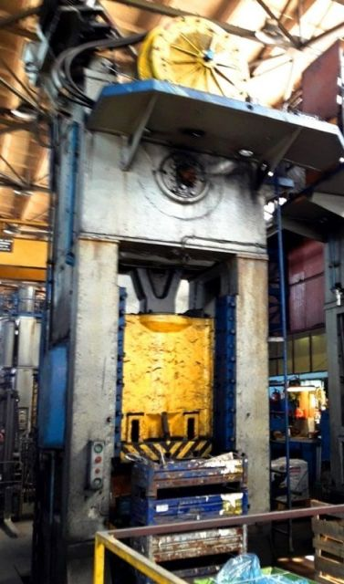 H Frame Press TMP VORONEZH K2538 630 ton 1985