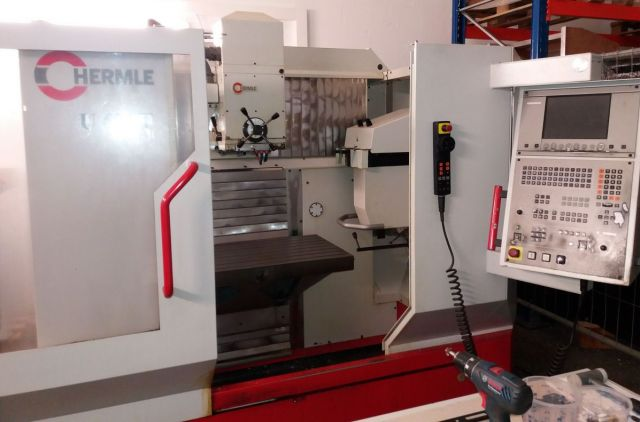 CNC Vertical Machining Center HERMLE U 630 T 2000