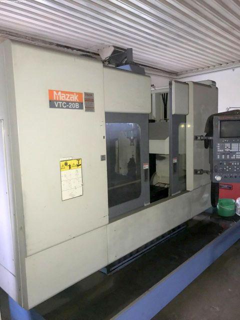 Fresadora CNC MAZAK VTC 20B 1998