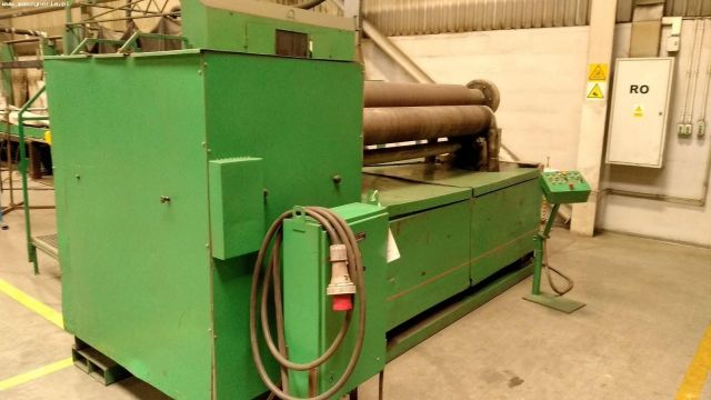 3 roll plate bøying maskin STANKOIMPORT IB 2222 U3 1987