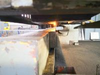 Hidraulic de forfecare ghilotina STROJARNE PIESOK CNTA 3150/16A 1987-Fotografie 5