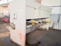 Hydraulic Guillotine Shear STROJARNE PIESOK CNTA 3150/16A 1987-Photo 8