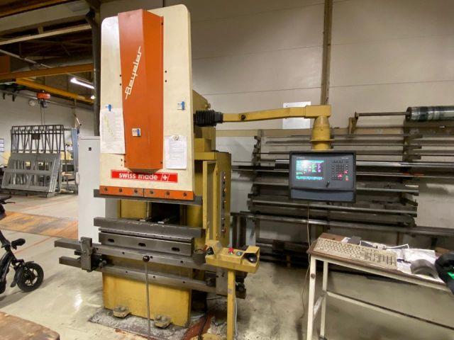 CNC Hydraulic Press Brake BEYELER RTS 40 / 1000 1987