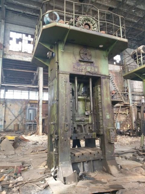 H Frame Press TMP VORONEZH K9538 1985