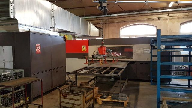 2D laser BYSTRONIC Bylaser 4400M 2007