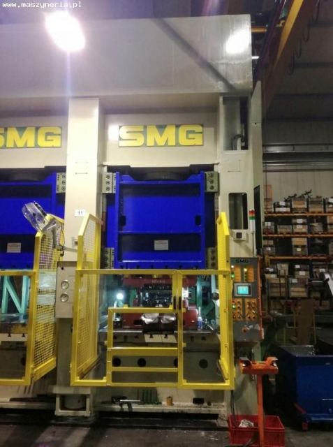 H Frame Hydraulic Press SMG DS 315-1500/1300 CNC 2007