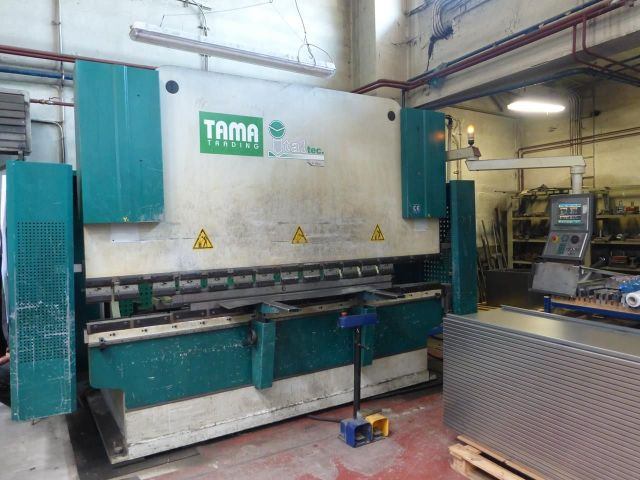CNC Hydraulic Press Brake ITALTEC ISB 120/30 2006