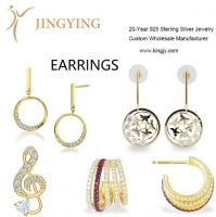 CNC Drehautomat Earrings fine jewelry wholesale manufacturer AJV 18