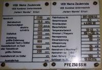 C Frame Hydraulic Press ZEULENRODA PYE 250 SSM 2005-Photo 6