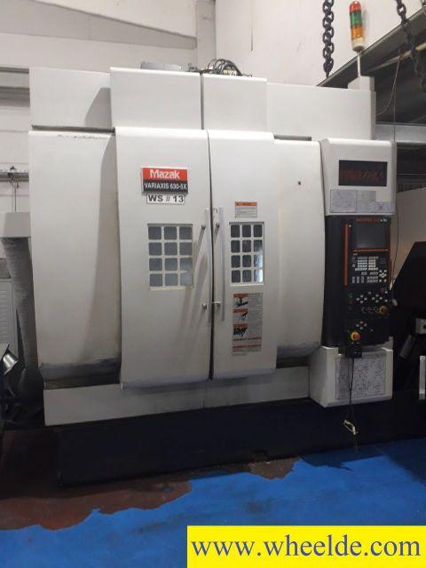 CNC lícní soustruh Mazak variaxis i630 5ax 25000rpm spindle Mazak variaxis i630 5ax 25000rpm spindle 2003