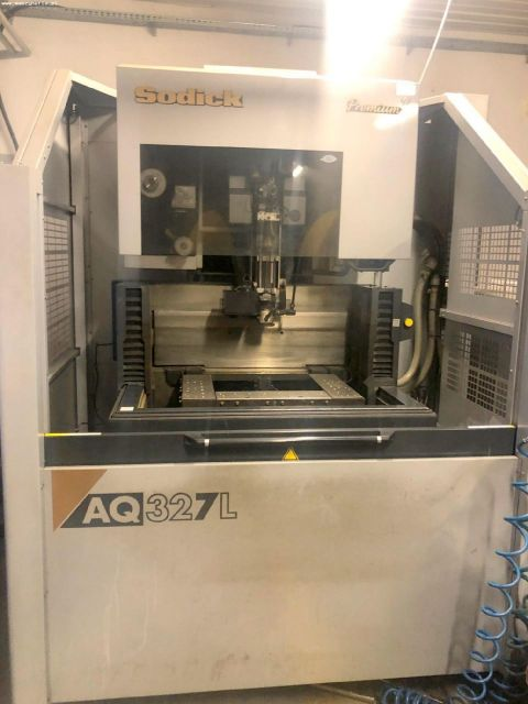 Wire Electrical Discharge Machine SODICK AQ327L PREMIUM 2006