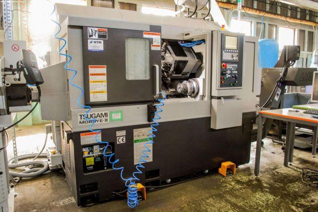 CNC Automatic Lathe TSUGAMI M08SYE-II 2018