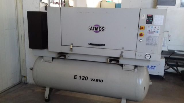 Screw Compressor Atmos E 120 VARIO 2009
