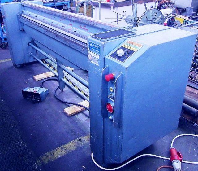Folding Machines for sheet metal SCHECHTL MABO  200 1982