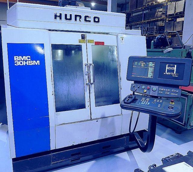 Centre dusinage vertical CNC HURCO BMC  30  HSM 1998