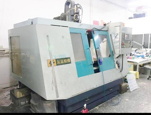 CNC Vertical Machining Center 0911 FEELER TAIWAN FV-1000 2000
