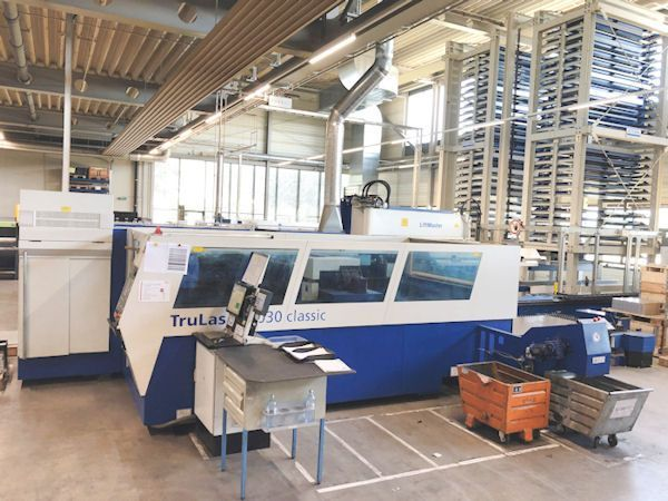 Laserschneide 2D TRUMPF TL 5030 - 5.000 Watt - special price 2007