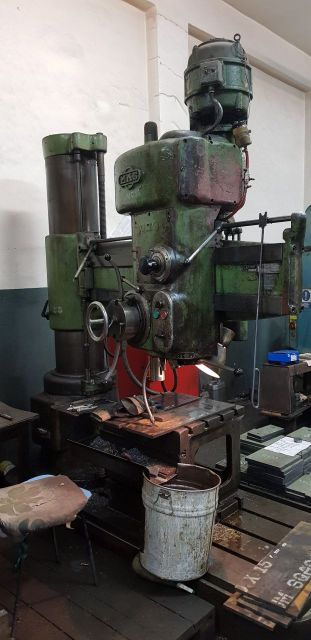 Radial Drilling Machine MAS VRM 50 A 1970