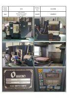 CNC verticaal bewerkingscentrum MAKINO A55