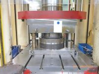 C Frame Hydraulic Press OSTERWALDER UP 3000 MS - 300 t. 1993-Photo 2
