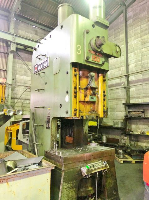 Eccentric Press 0879 AMADA JAPAN TP-150C 2002
