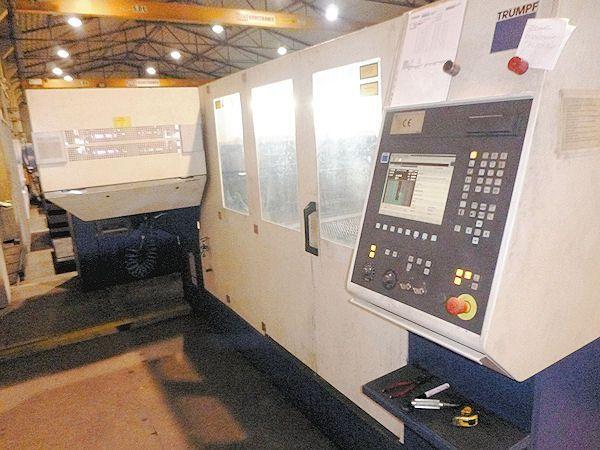 2D laser TRUMPF L 6030-3200 watt-6000x2000  SPEZIAL PREIS 2006