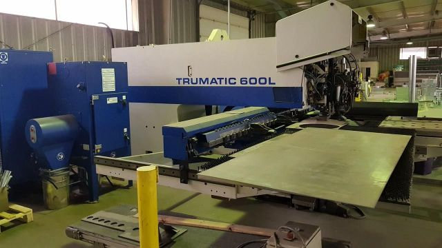 Punching Machine with Laser TRUMPF Trumatic 600L 1999