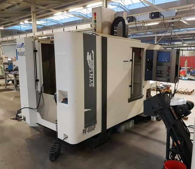 CNC Vertical Machining Center SYNTAK PM-600 APC 2014