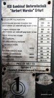 Коленно-рычажный пресс ERFURT PKZZ IV 500 FS 1981-Фото 3