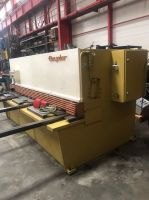 Cisaille guillotine hydraulique BEYELER CP 3100x6