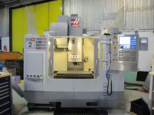 Frezarka CNC HAAS VF-2S SHE Super Speed 2007