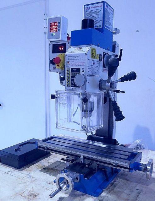 Vertical Milling Machine HBM BF  16  DRO 2020