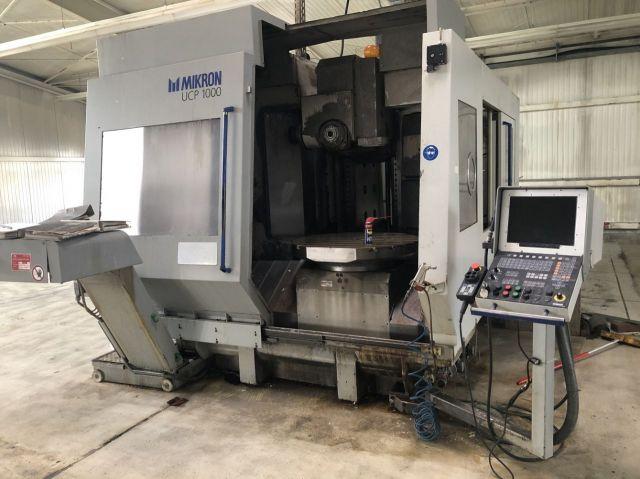 CNC Fräsmaschine MIKRON UCP 1000 1998