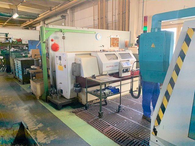 CNC-Drehmaschine HARRISON ALPHA 400 T 2003