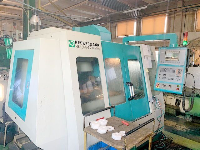 Vertikal CNC Fräszentrum RECKERMANN VMC 105 2003