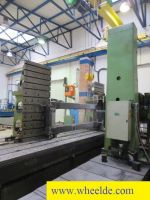 CNC automatisk dreiebenk TOS HP 100 Floor type boring machine u TOS HP 100 Floor type boring machine u