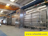 Sheet Metal Profiling Line Center SKILL SFILL 6000 Vertical grinding and arrissing center SKILL SFILL
