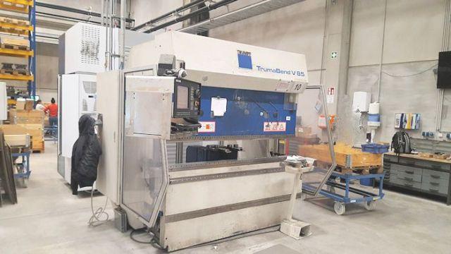 Hydraulische Abkantpresse CNC TRUMPF V 85 - 6 Achsen 1997