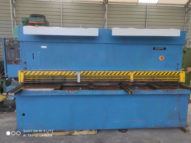 Hydraulic Guillotine Shear ESPE CNTA 3150/6,3 CNC 1996