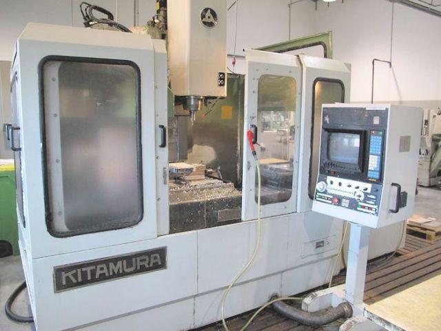 Vertikal CNC Fräszentrum KITAMURA Mycenter 3 - 2 Pallets 1990