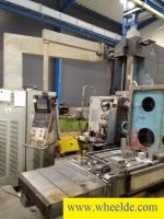 CNC Facing Lathe CNC horizontal milling machine FKH 80 A CNC horizontal milling machine FKH 80 A